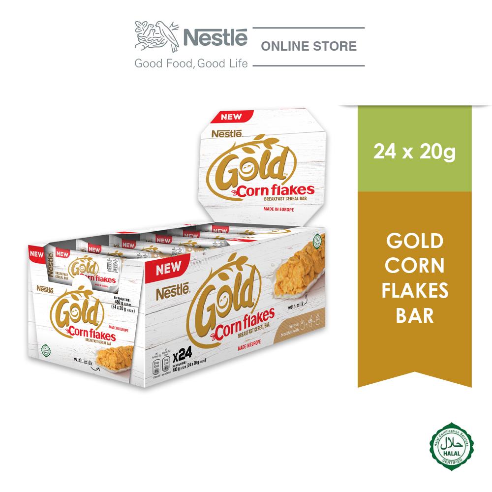 Nestle Gold Corn Flakes Bar (24x20g)