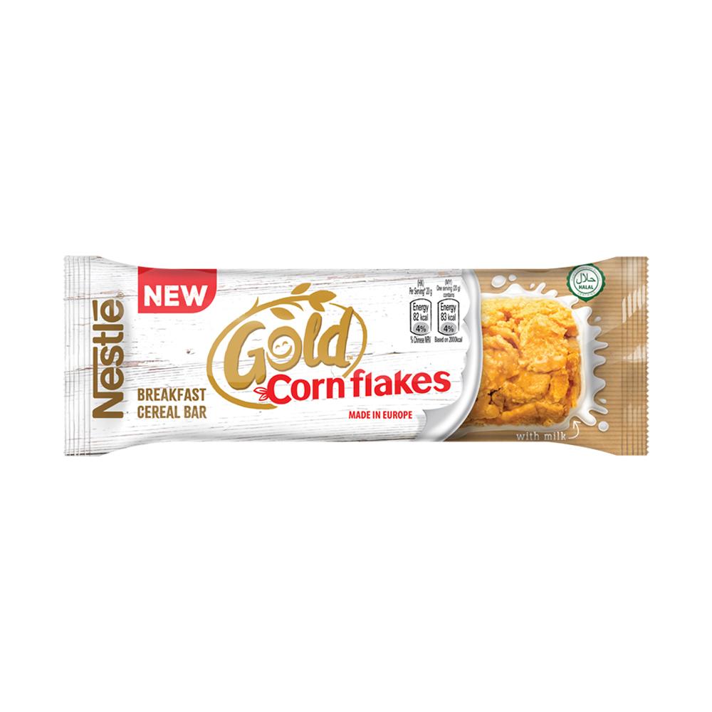 Nestle Gold Corn Flakes Bar (24x20g), ExpDate: Dec21