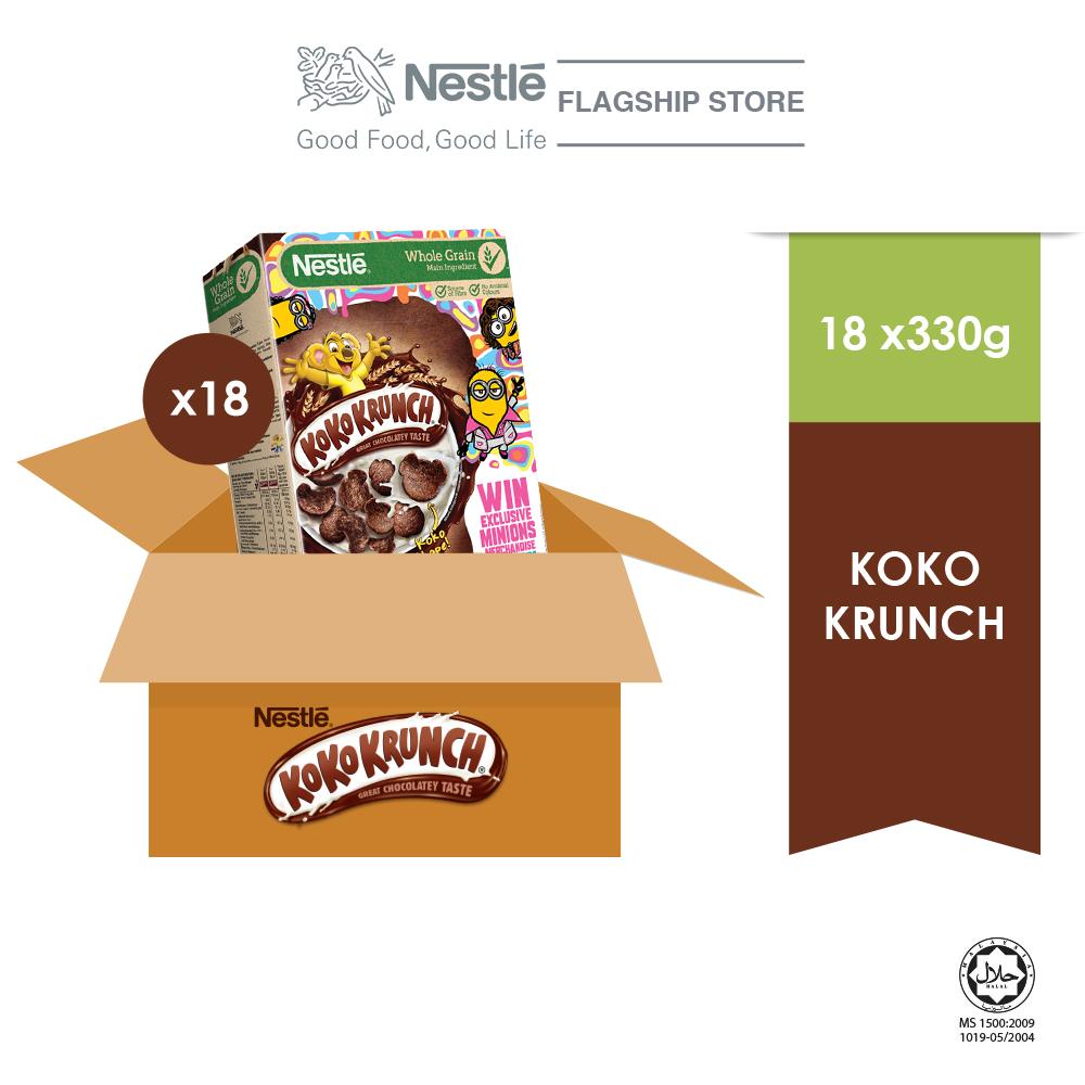 Nestle KOKO KRUNCH 330g MINION Contest, x18 boxes