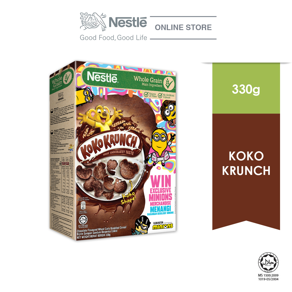 Nestle KOKO KRUNCH 330g MINION Contest