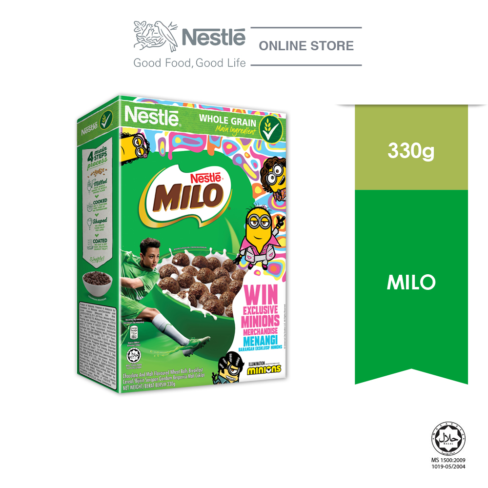 Nestle MILO Cereal 330g MINION Contest