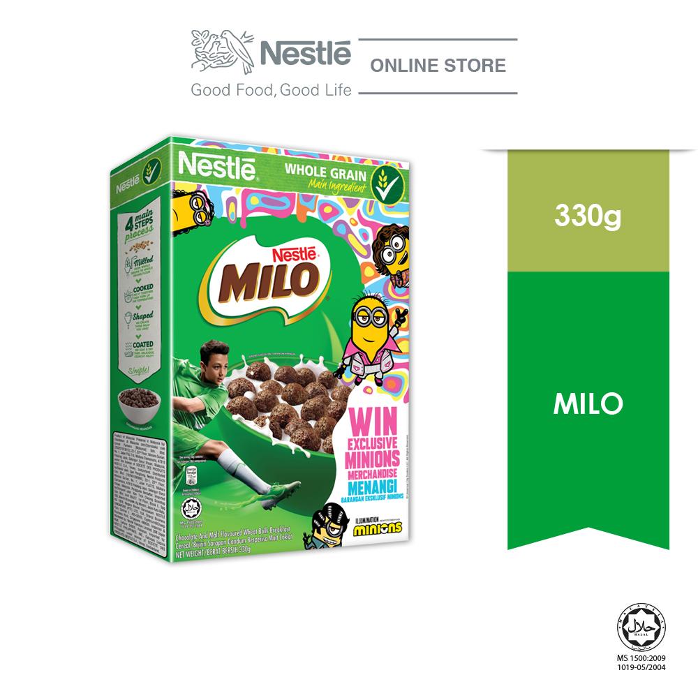 Nestle MILO Cereal 330g MINION Contest