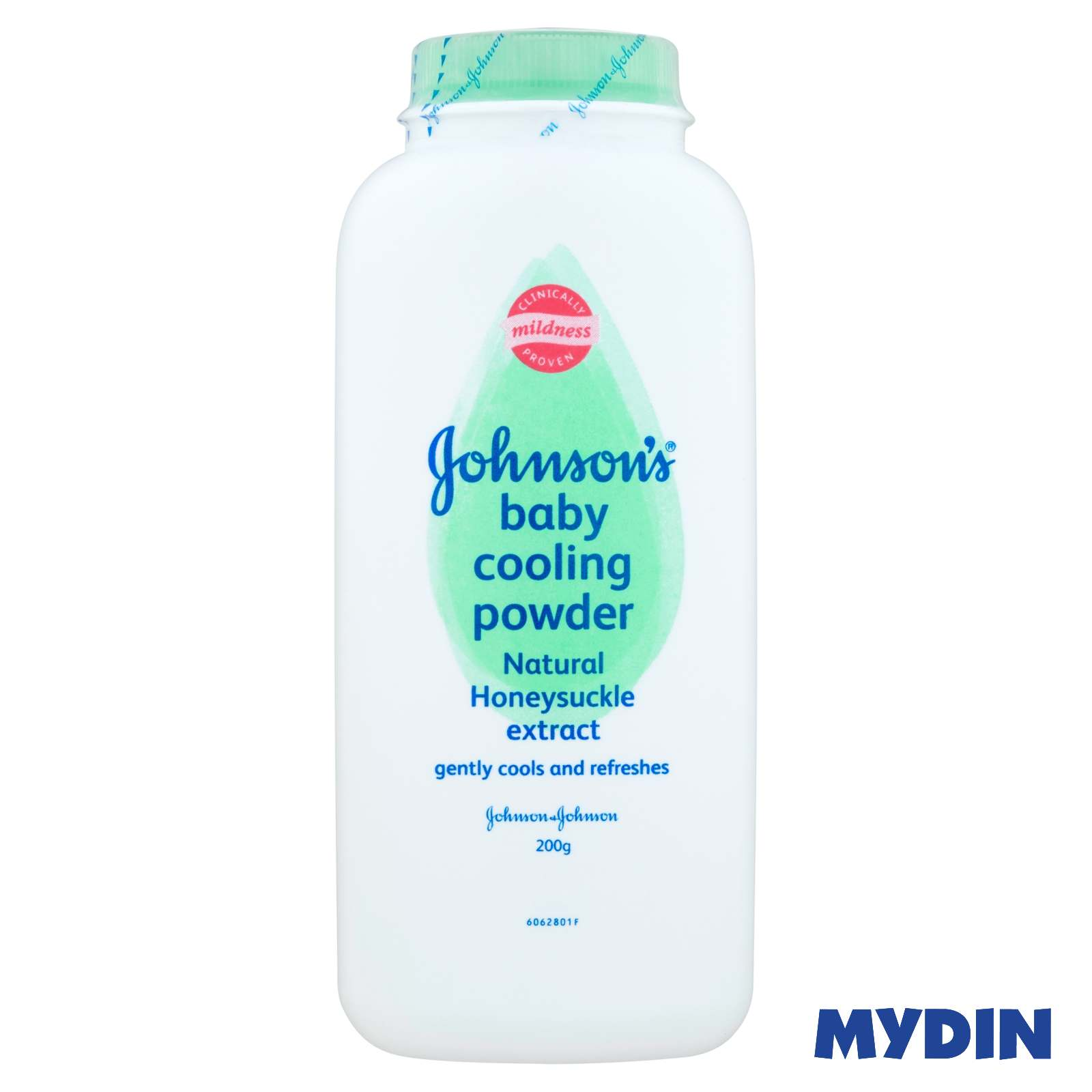 Johnson's Baby Cooling Powder - Natural Honeysuckle Extract (200g)