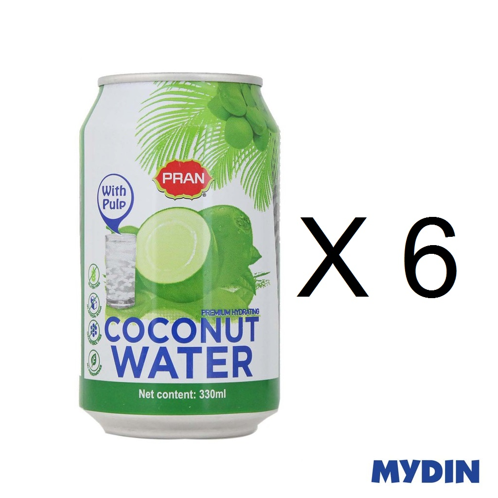 Pran Coconut Water (6 x 330ml)