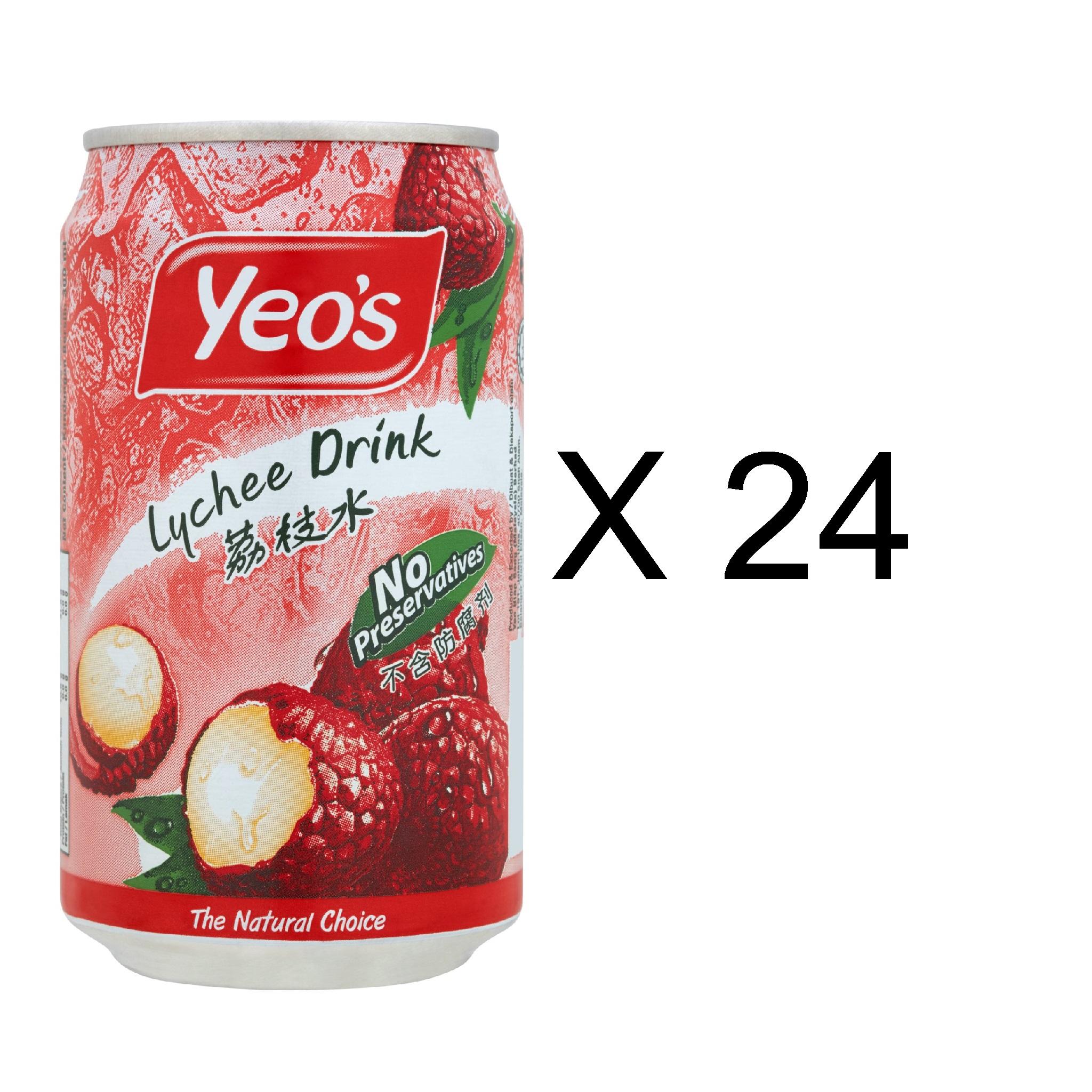 Yeo's Lychee Drink (24 x 300ml)