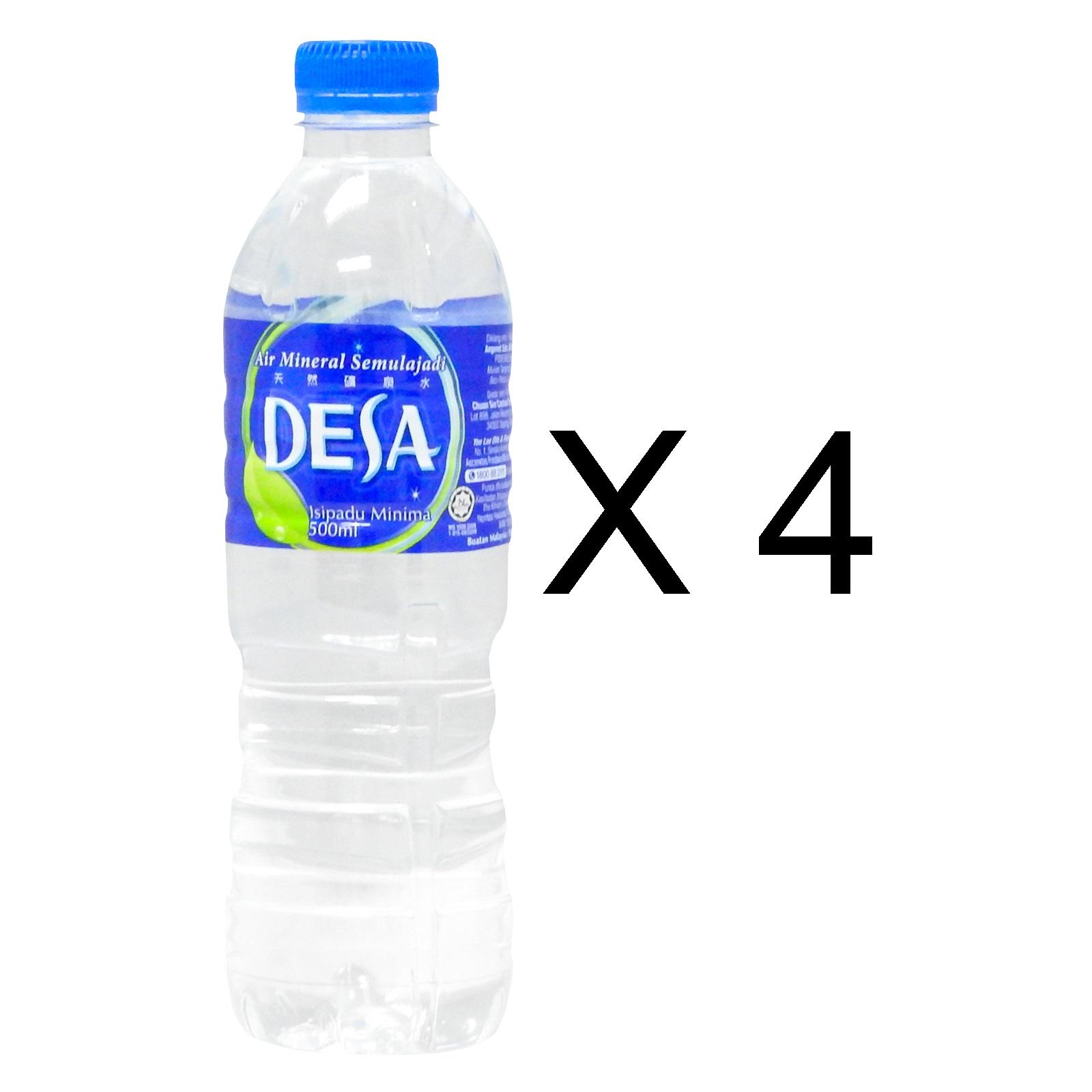 Desa Mineral Water (4 x 500ml)