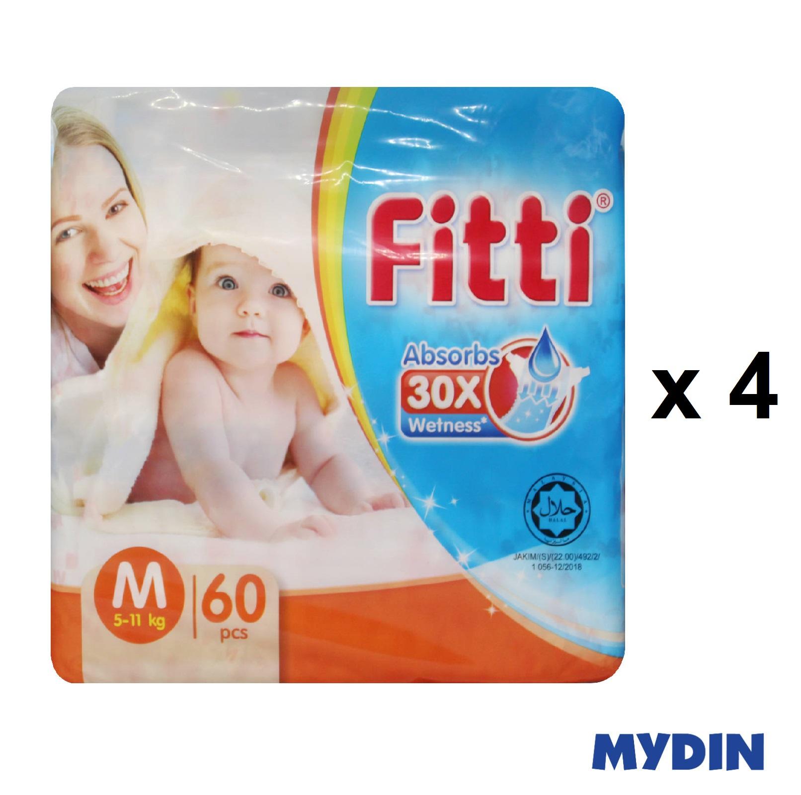 Fitti Jumbo Pack M60 x 4 Packs