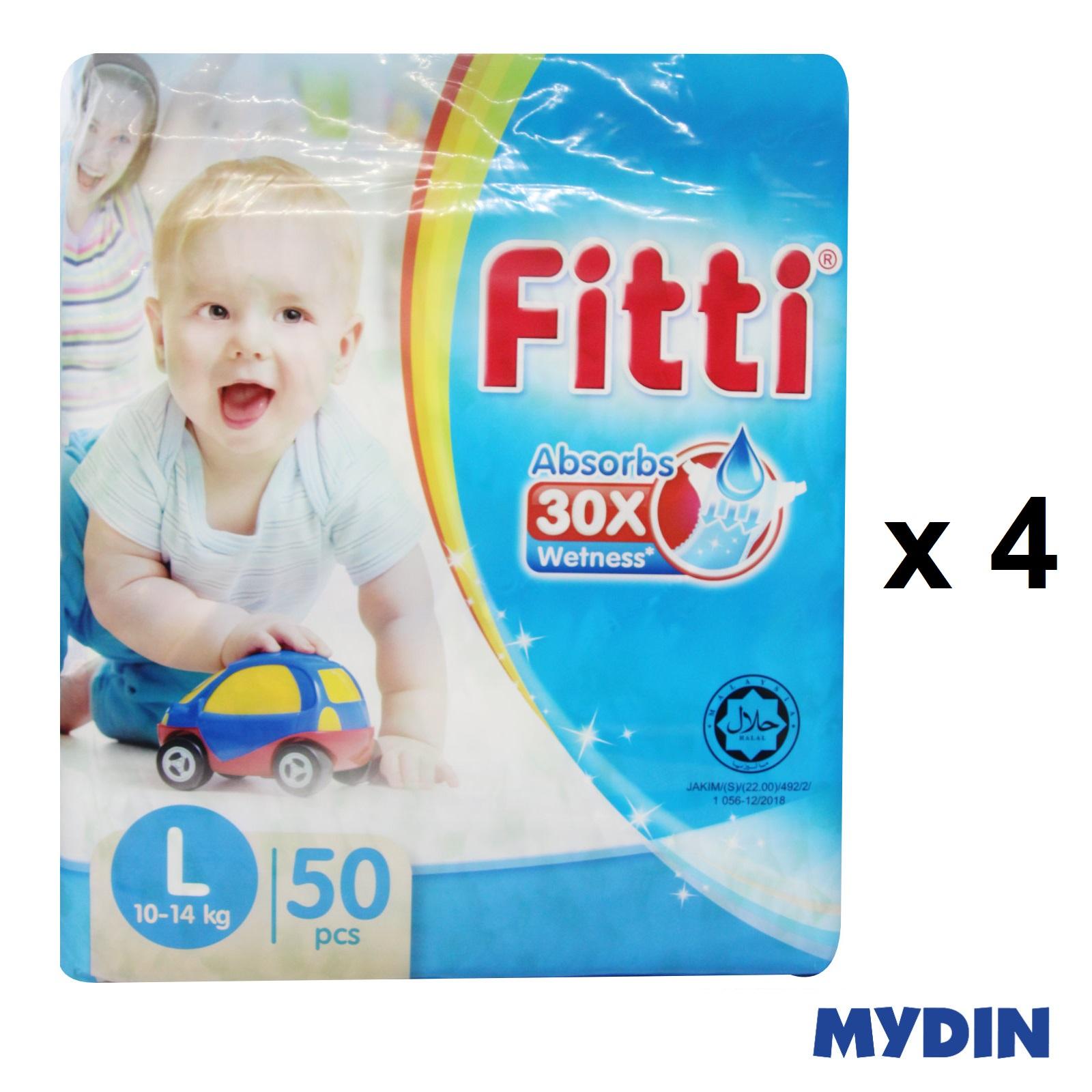 Fitti Jumbo Pack L50 x 4 Packs