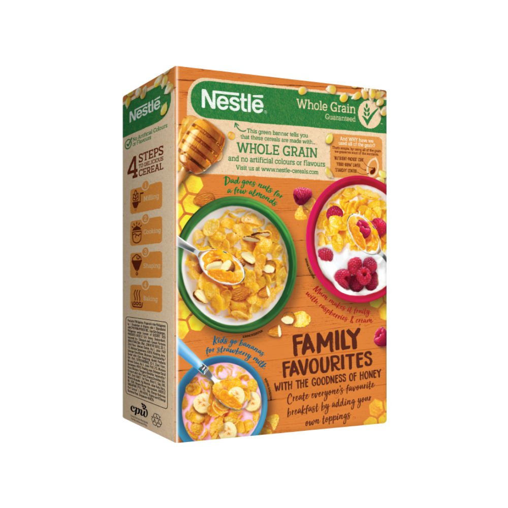 Nestle GOLD Honey Flakes 370g
