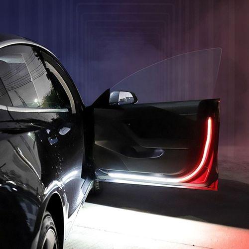 Car Door Streamer Warning Light Anti-collision LED Door Side Light Strobe Door Warning Light