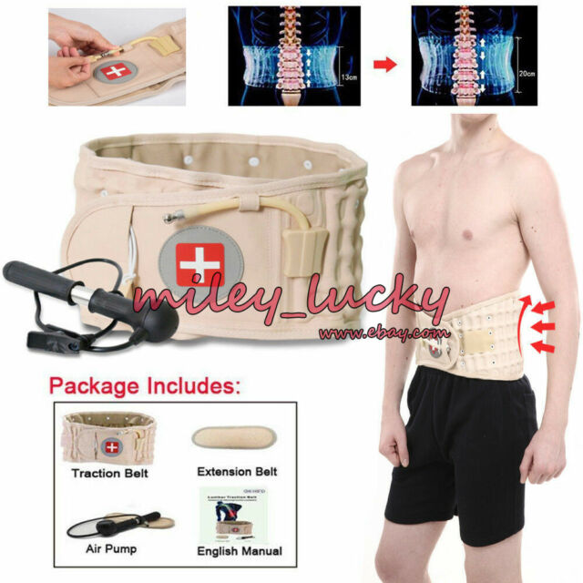 Back Decompression Belt Lumbar Support for Back Pain Relief Lower Back Support Device for Women Men