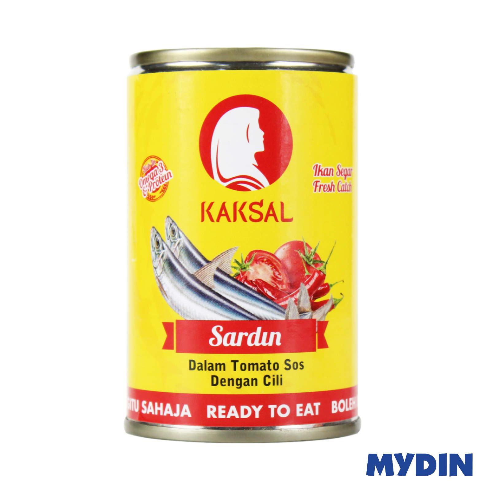 Kak Sal Sardine In Tomato Sauce With Chilli (155g)