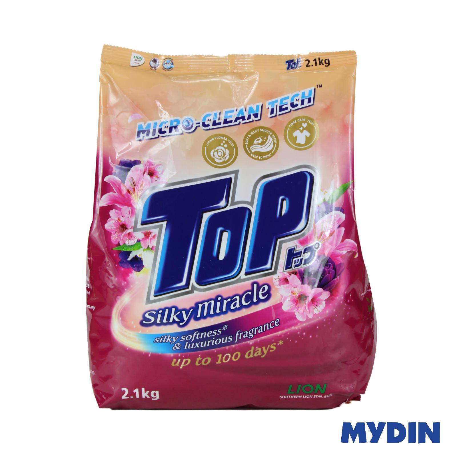 Top Detergent Powder Silky Miracle (2.1kg)