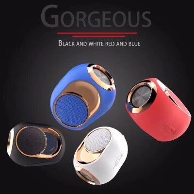 Mini wireless small golden egg bluetooth speakerHigh-End Wireless Speaker -108 dB