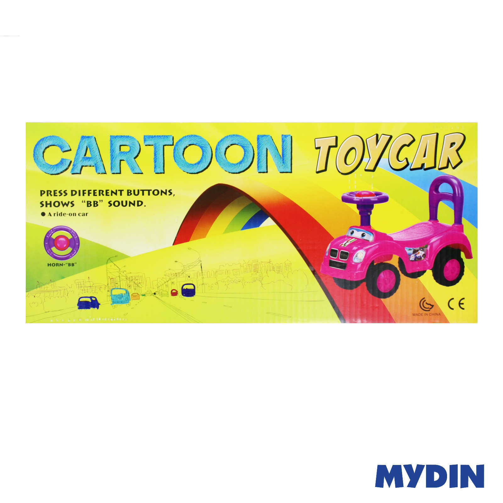 Cartoon Toy Push Car SP709-1