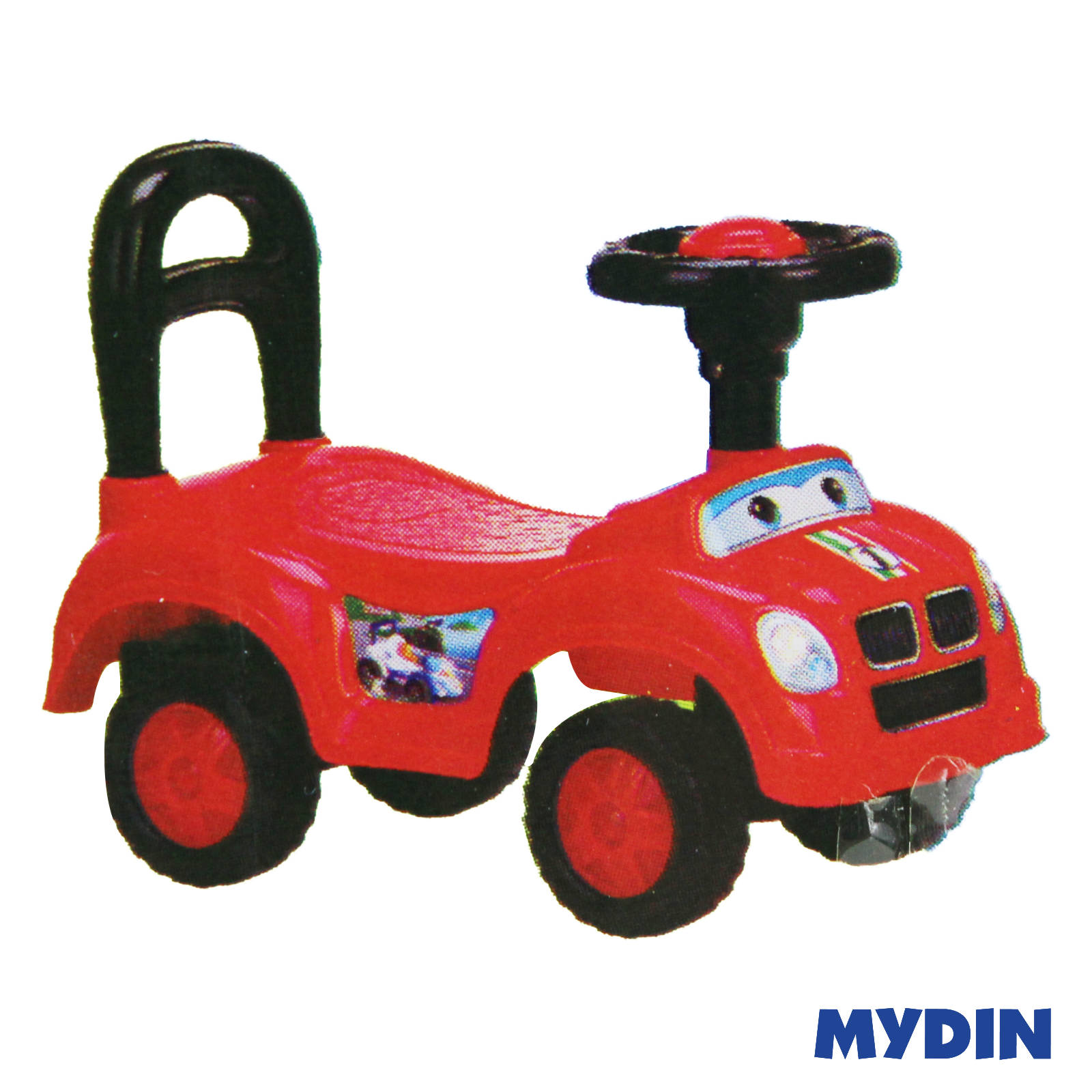 Cartoon Toy Push Car SP709-1 (3years+)