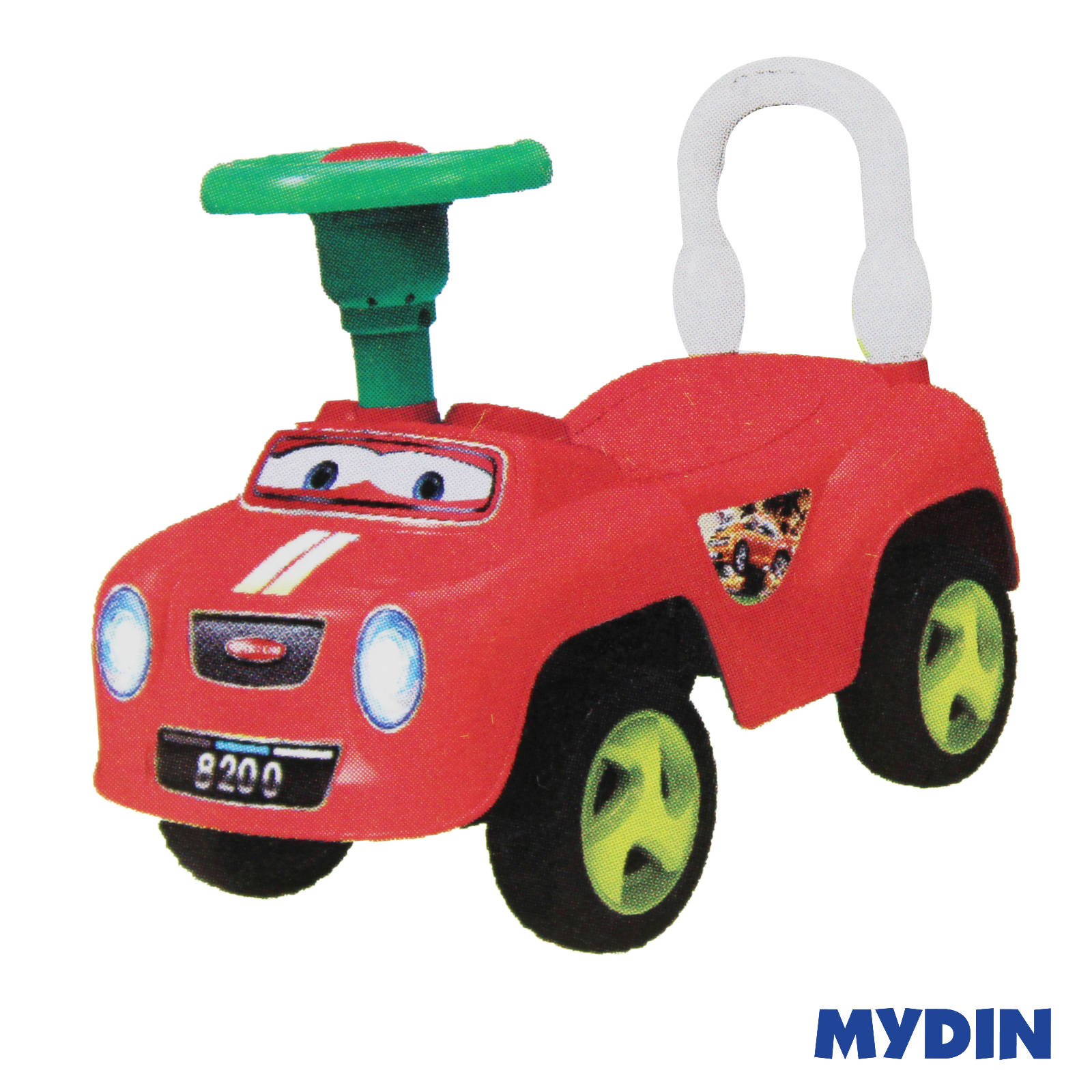 Cartoon Toy Push Car SP8200 (3years+)