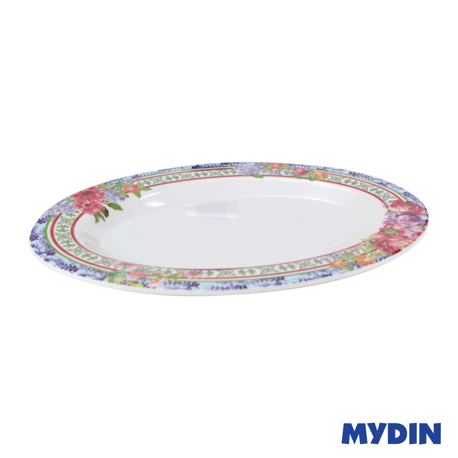 My Home Melamine Oval Plate 12 Inch FR HP-OV-12