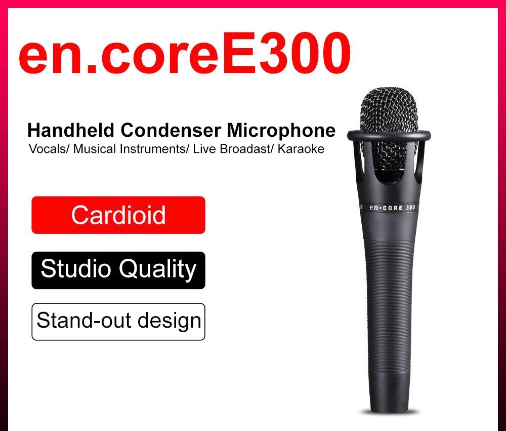 En. Core E300 Condenser Microphone Handheld With Mic Cable