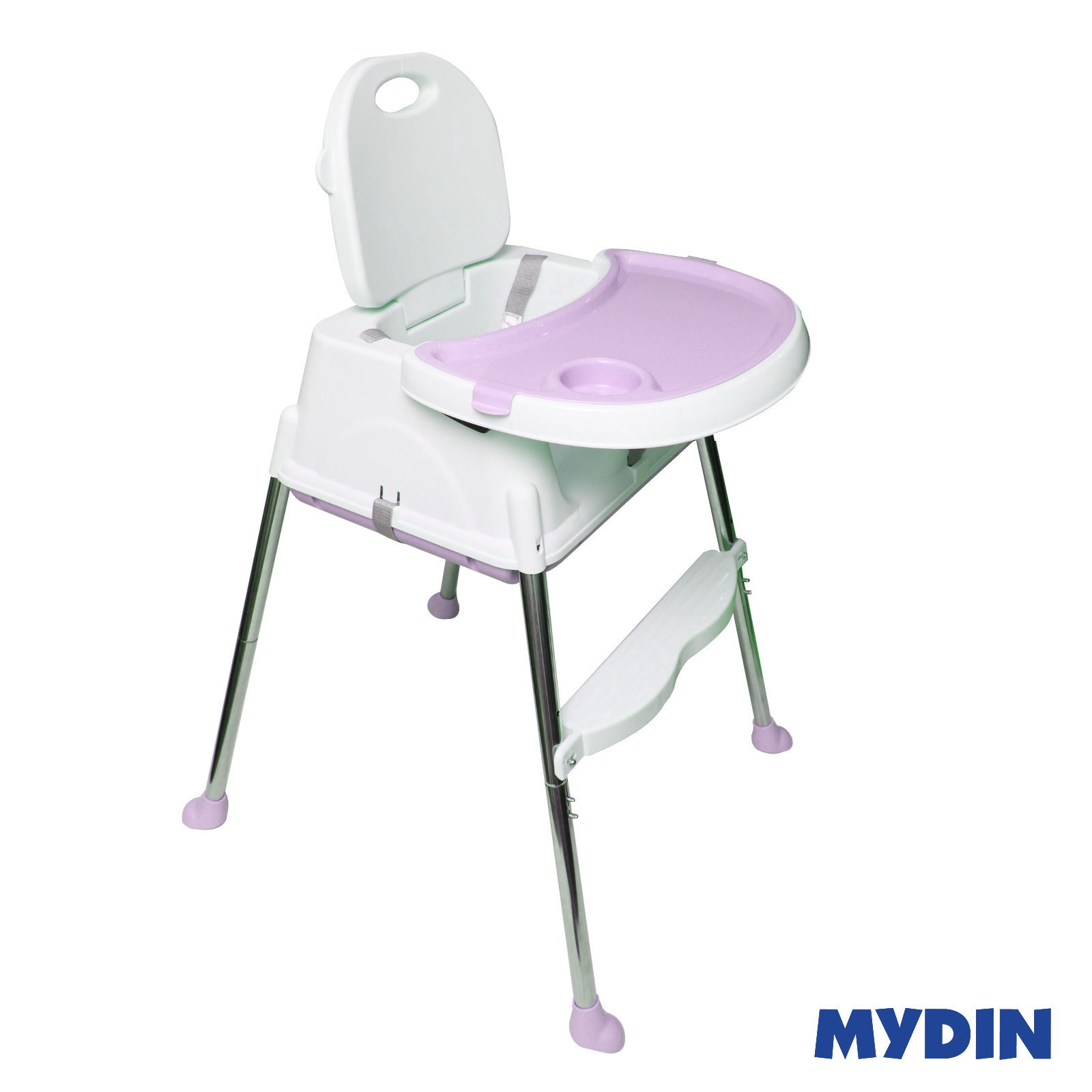 MYBB Portable Multi Function Foldable Baby Feeding Dining ChairPink 0820YW-HE01B