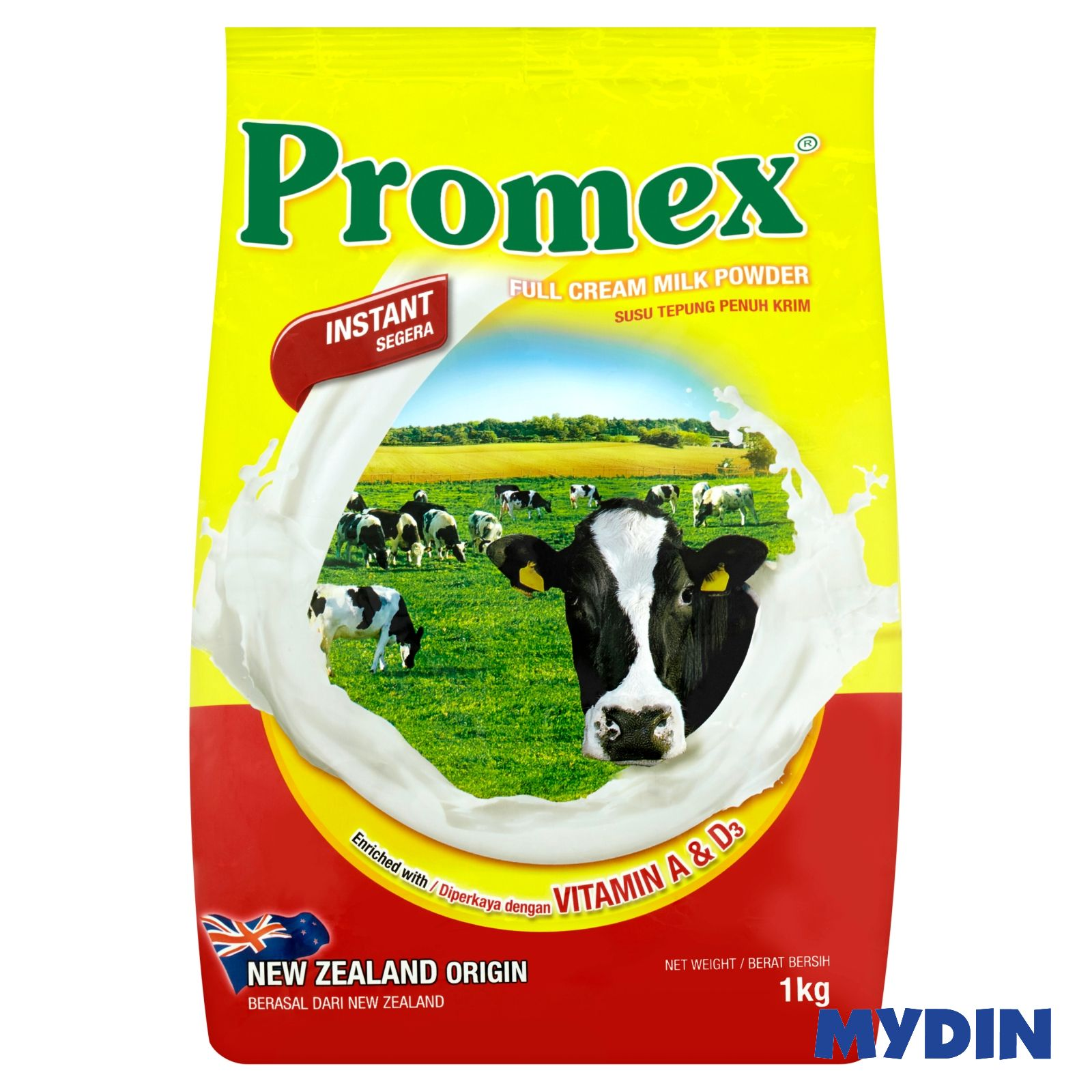 Promex Full Cream Milk Powder (1kg)