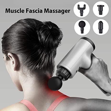 Fascial Gun Leg Deep Vibration Muscle Body Relaxation Electric Gun Fitness Equipment Massage Hammer Shock Massager