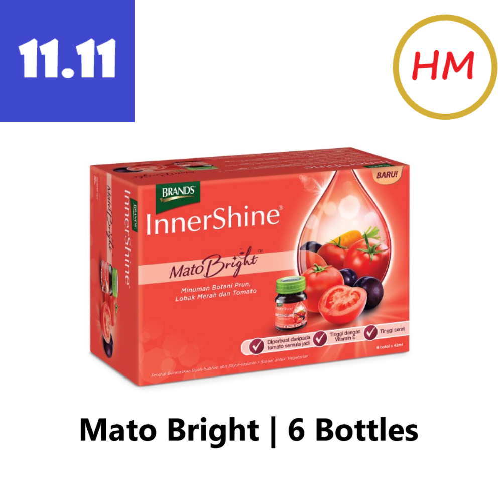 BRAND'S Innershine Mato Bright 6 x 42ml