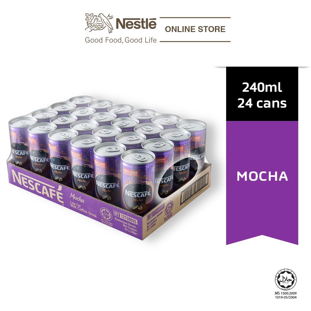 NESCAFE Mocha 24 Cans 240ml