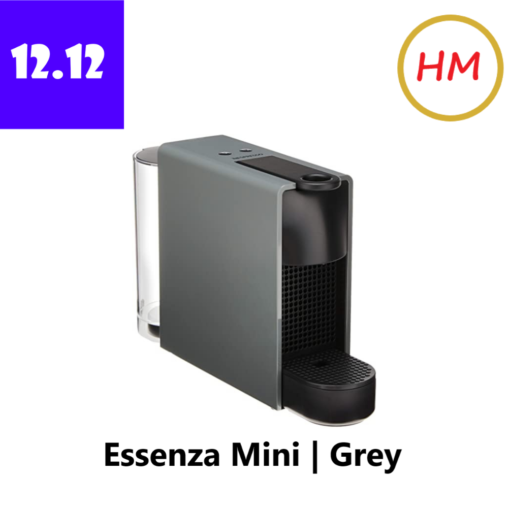 Nespresso Essenza Mini Grey Coffee Machine / Coffee Maker (C30-ME-GR-NE1)
