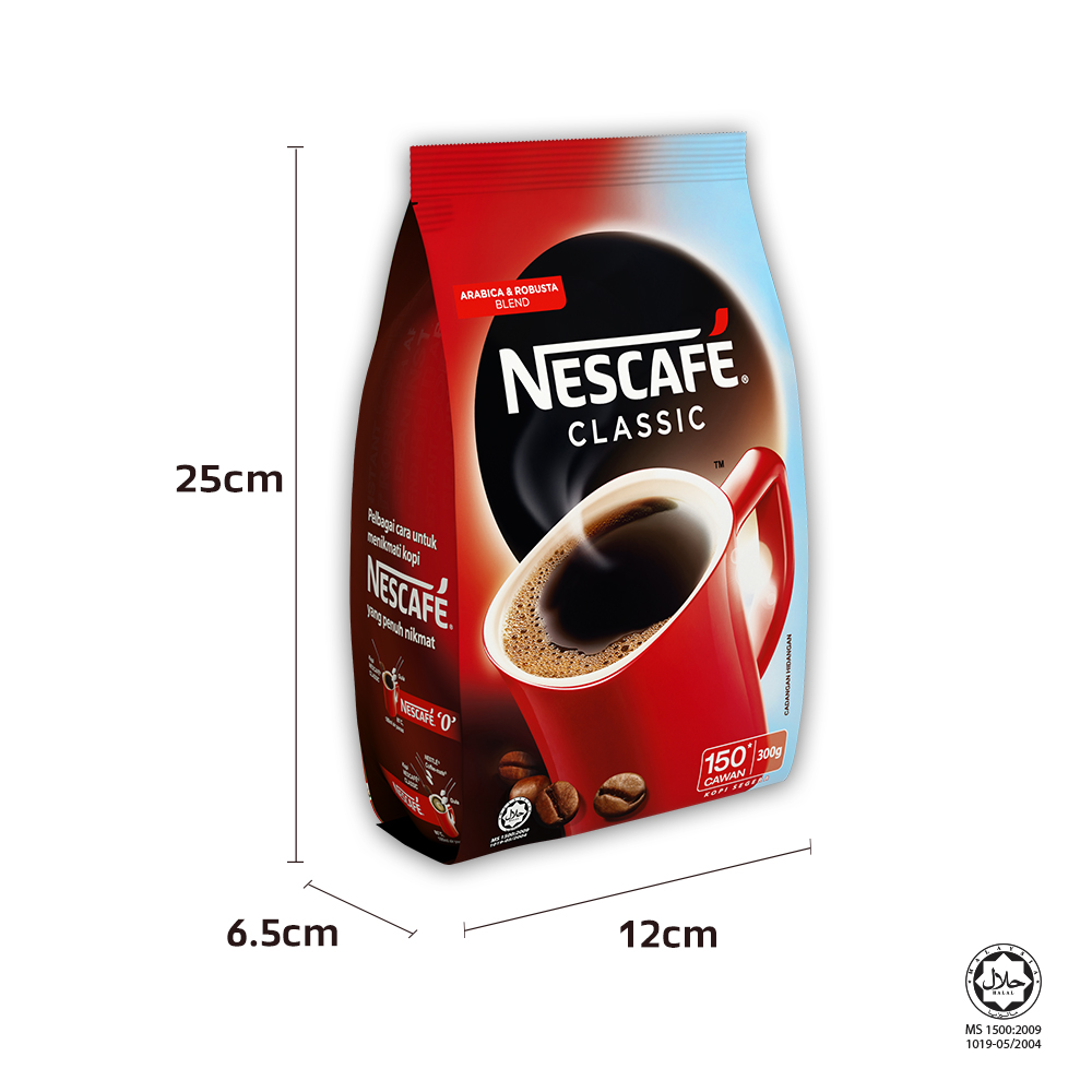 NESCAFE CLASSIC Refill 300g x3 packs