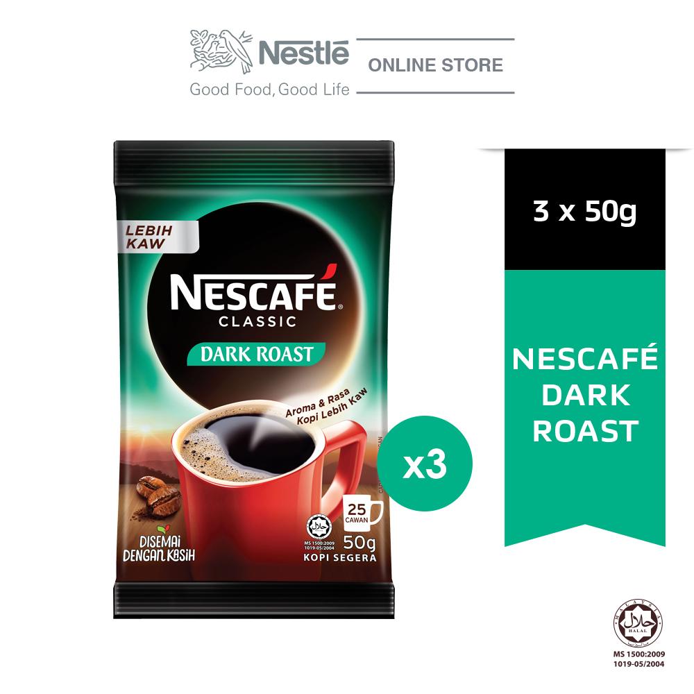 NESCAFE Dark Roast 50g x3 packs