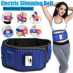 Slimming Belt Massage Electric Vibrating Waist Exercise Leg Belly Fat Burning Heating Abdomen Massager Slimming Belt