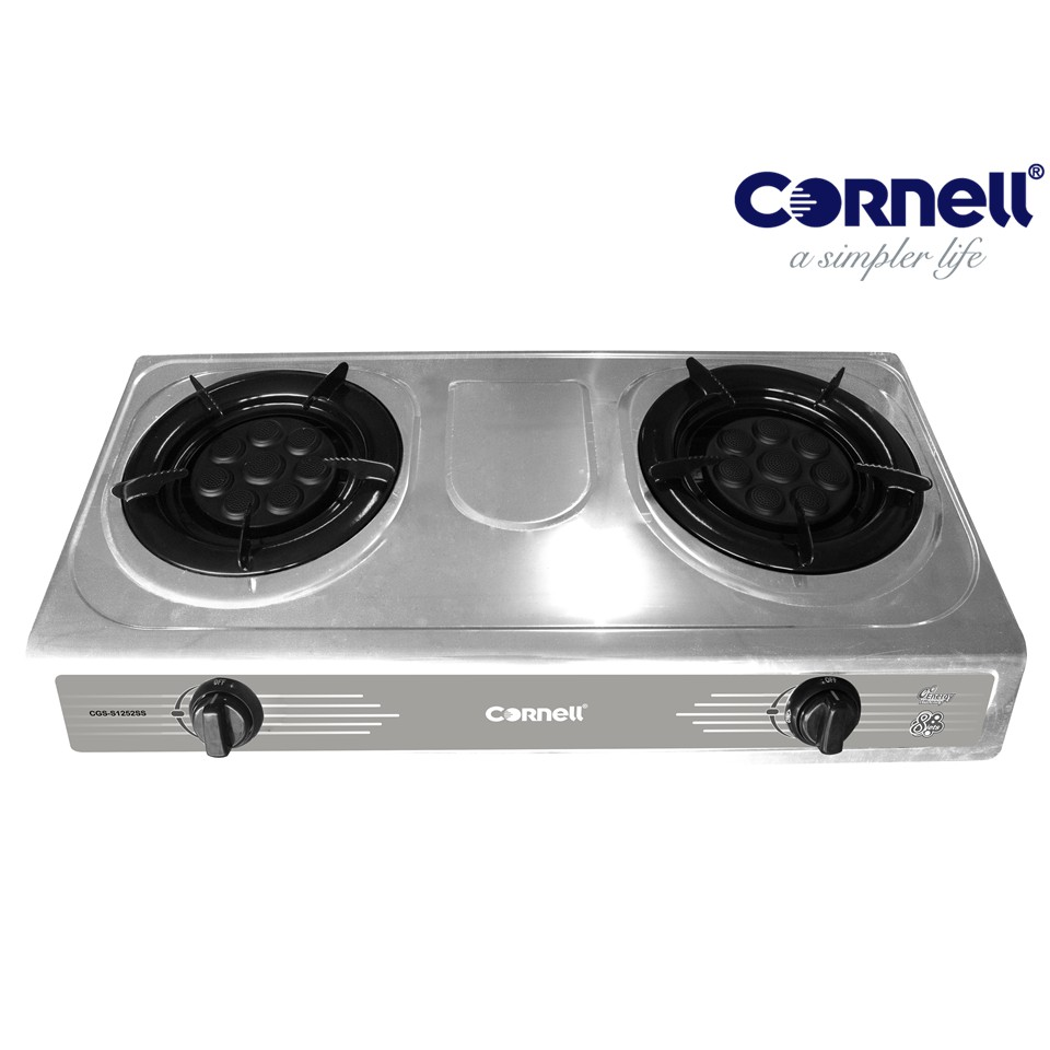Cornell Stainless Steel Panel Gas Stove with 8 eyes burner CGS-S1252SS CGSS1252SS