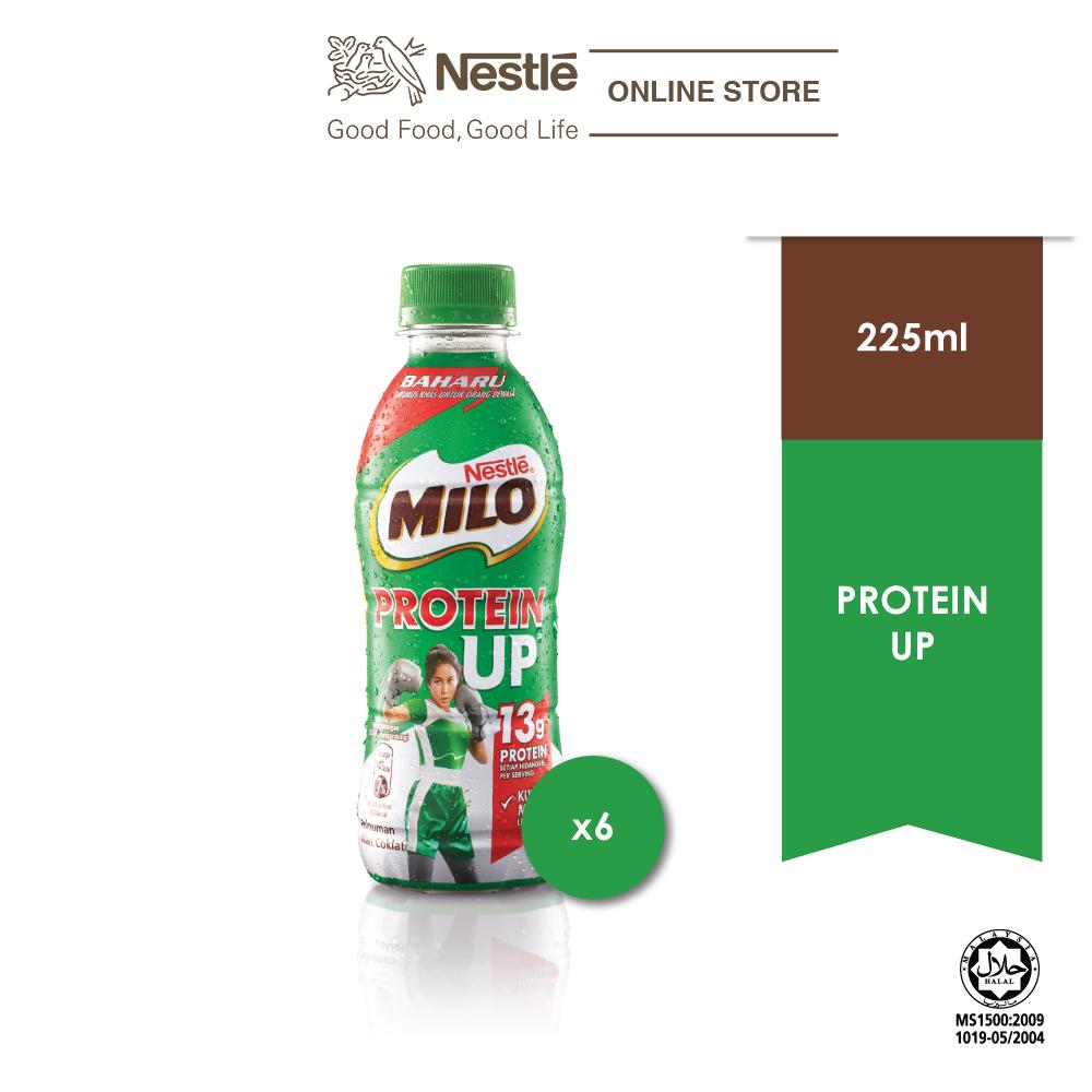 MILO Activ-go RTD ProteinUp 225ml, x6 bottles