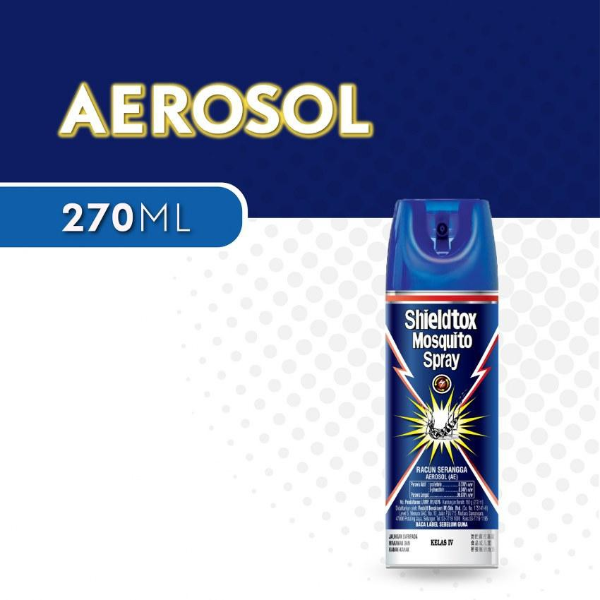 Shieldtox Mosquito Spray (270ml)