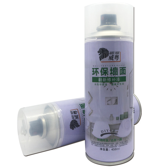 Water Based Wall Texture Spray Paint for Interior and Ceiling