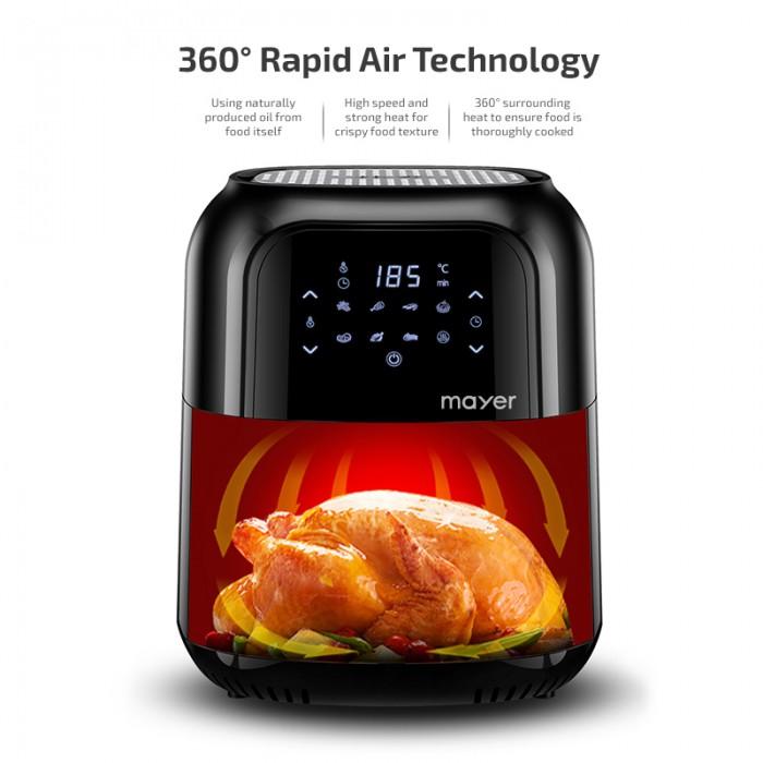 Mayer 5.5L Digital Air Fryer MMAF501D