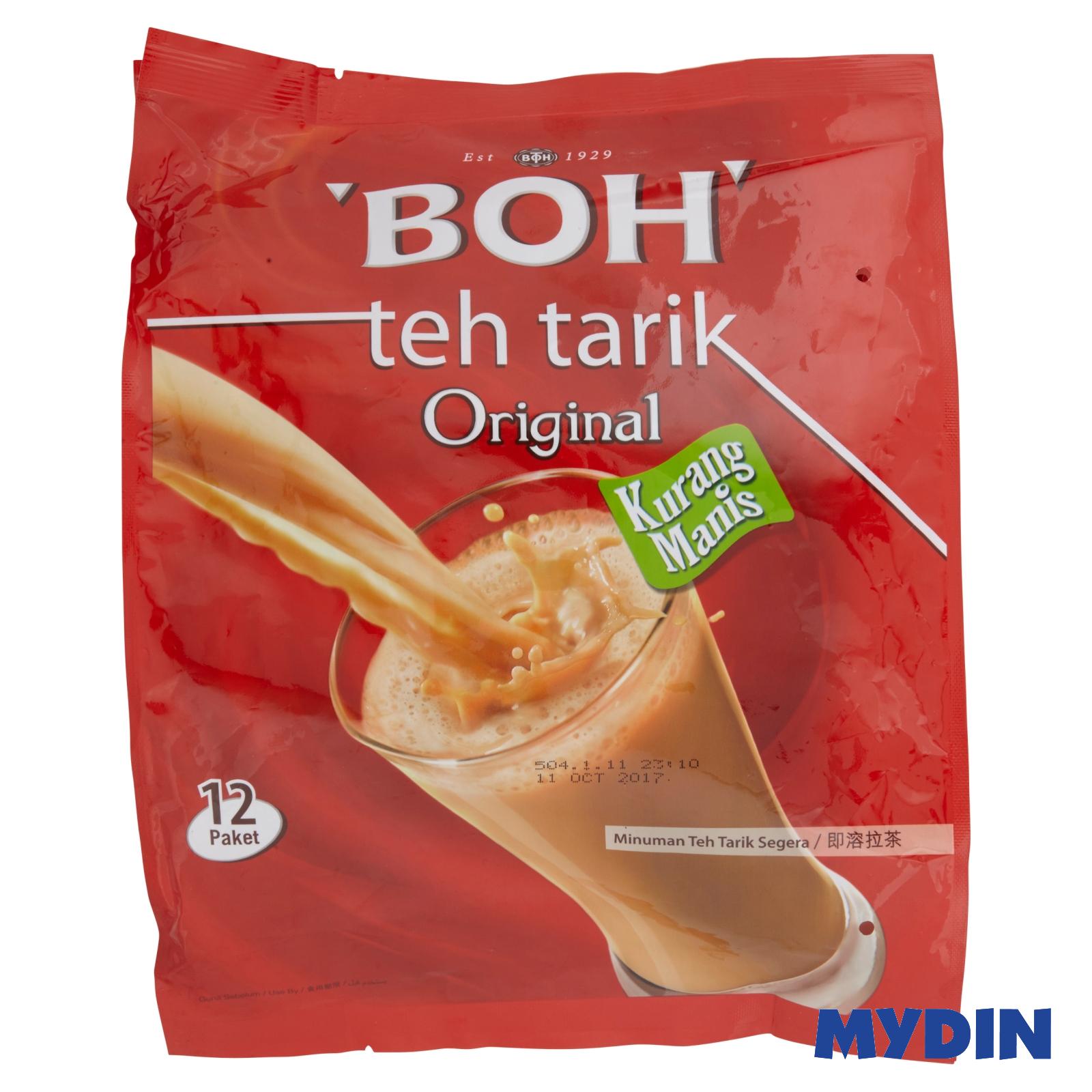 BOH 3 in 1 Teh Tarik Instant Milk Tea Beverage Original (27g x 12)