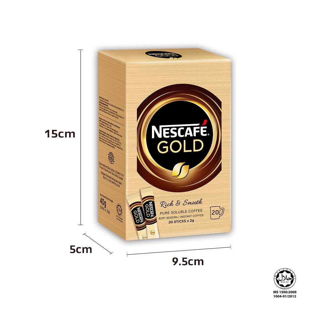 NESCAFE GOLD CNY Gift box bundle A