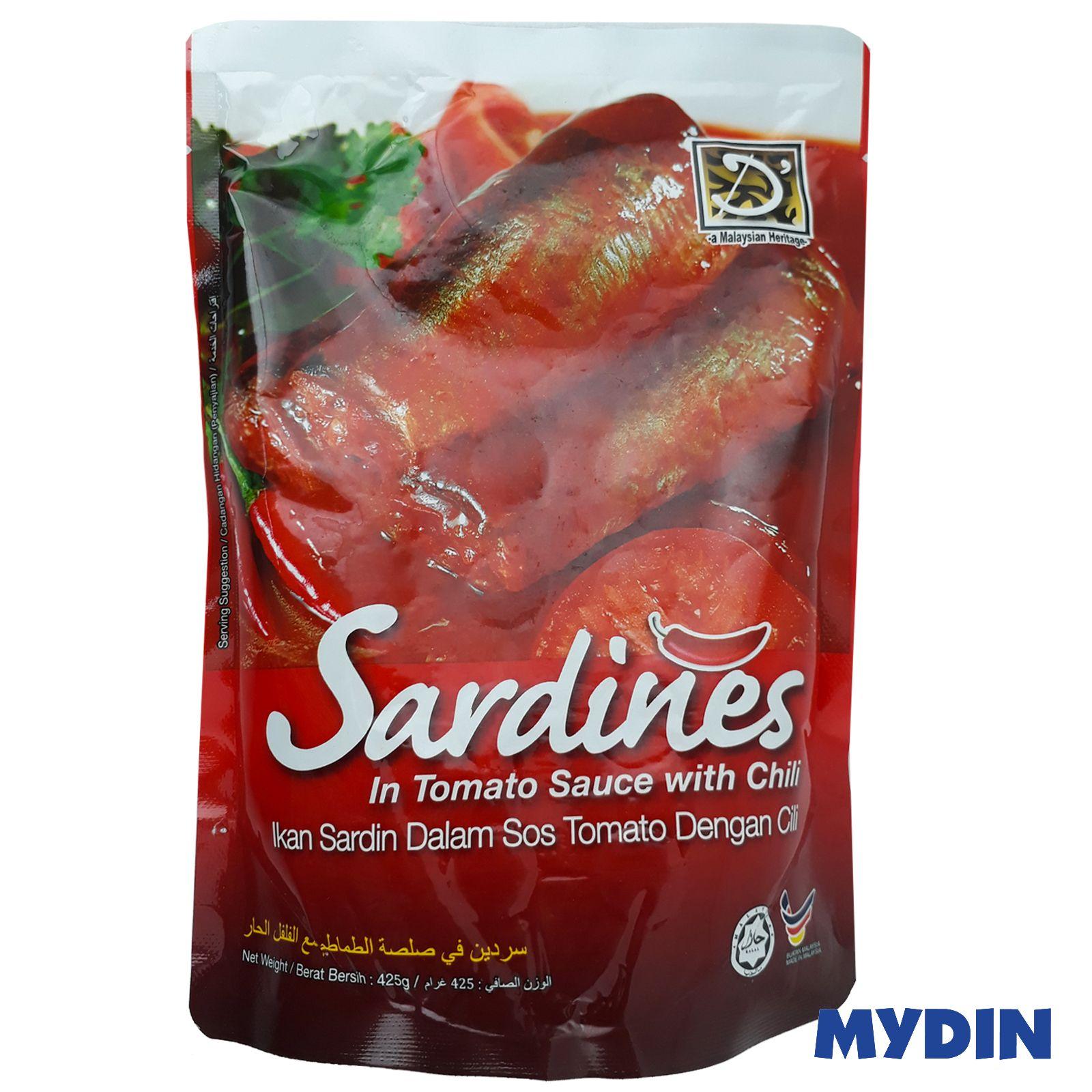 Dheritage Sardine In Tomato Sauce & Chili 425g