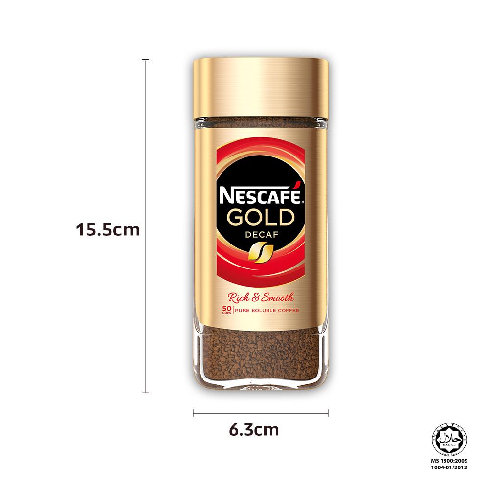 NESCAFE Signature GOLD Decaf Jar 100g x3 jars