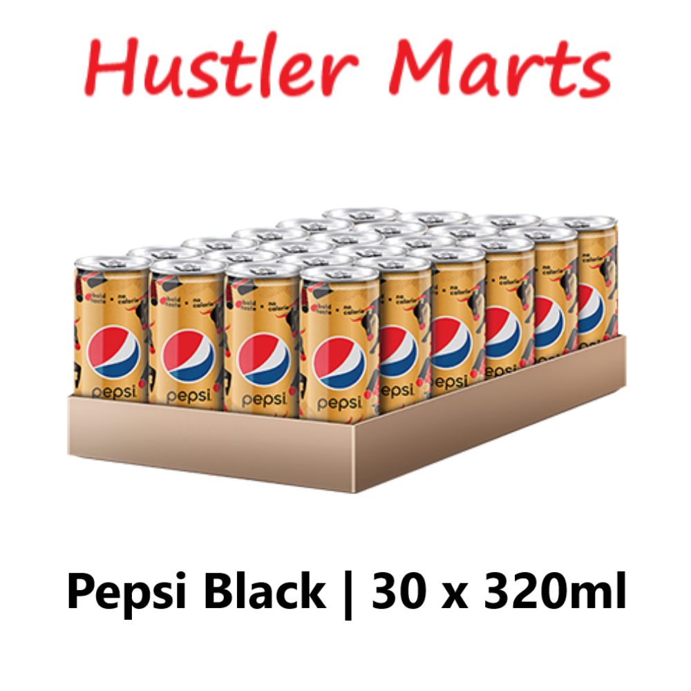 Gold Pepsi Black 1 Carton (30 x 320ml)