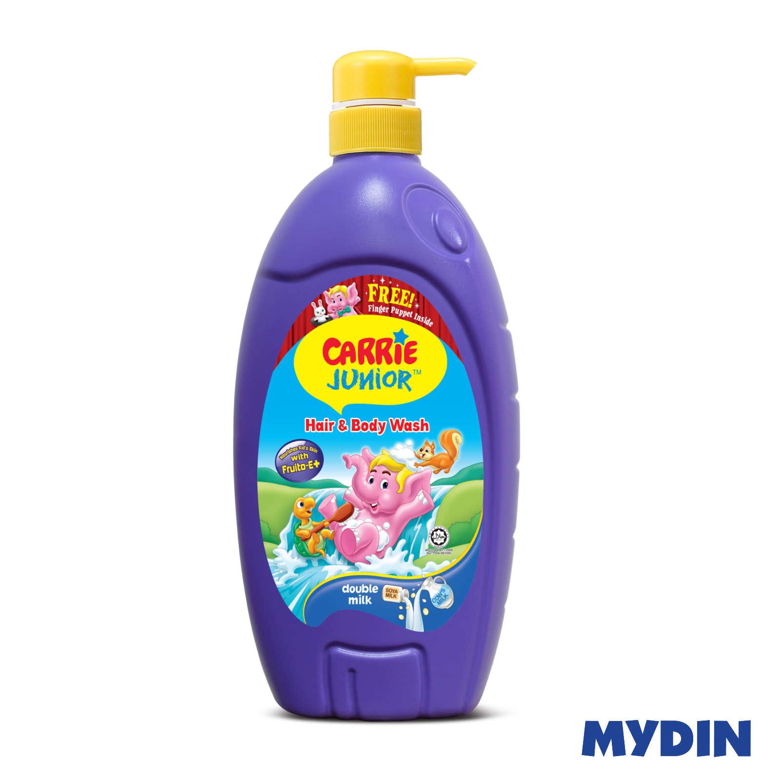 Carrie Junior Baby Hair & Body Wash Double Milk 1000g