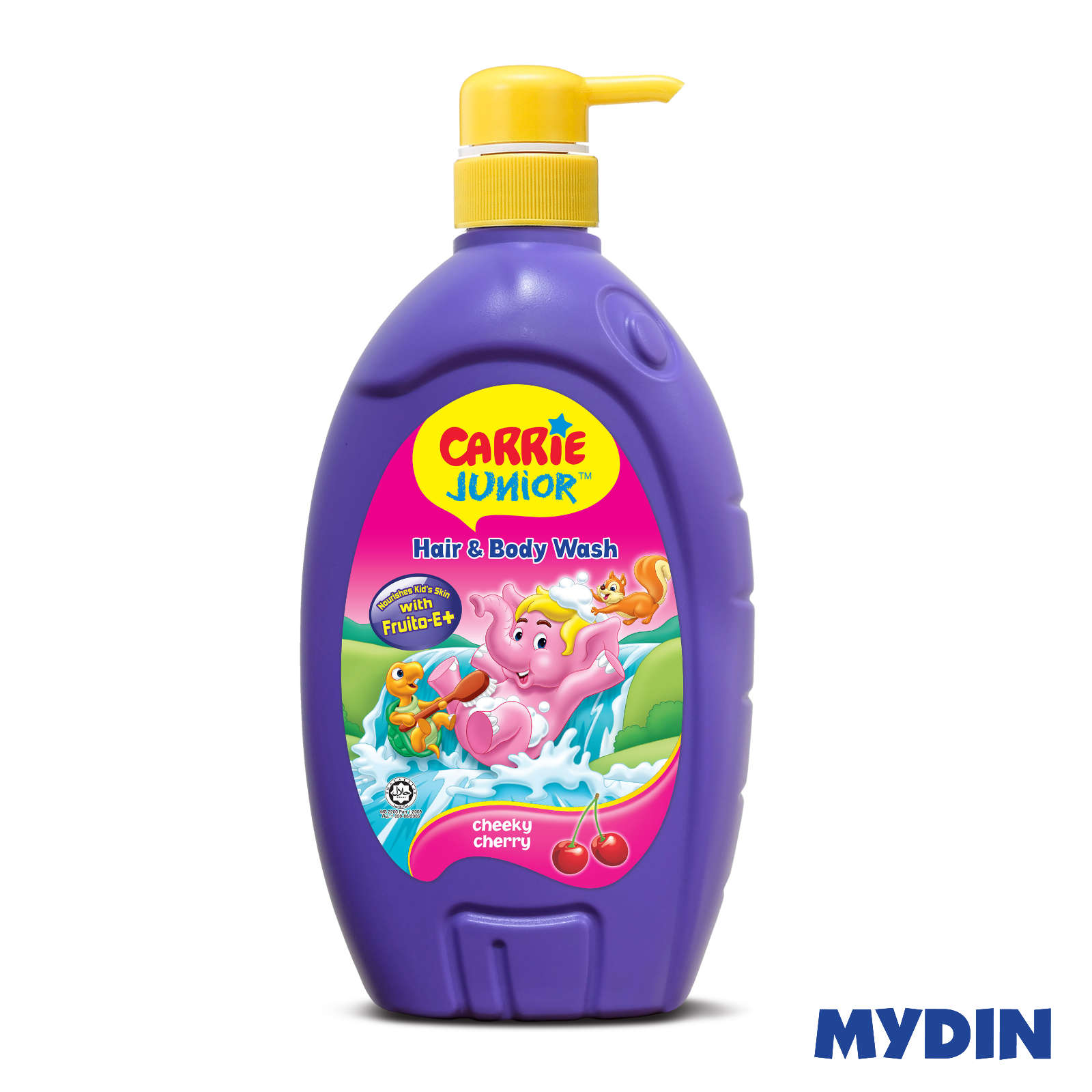 Carrie Junior Baby Hair & Body Wash - Cheeky Cherry (700ml)