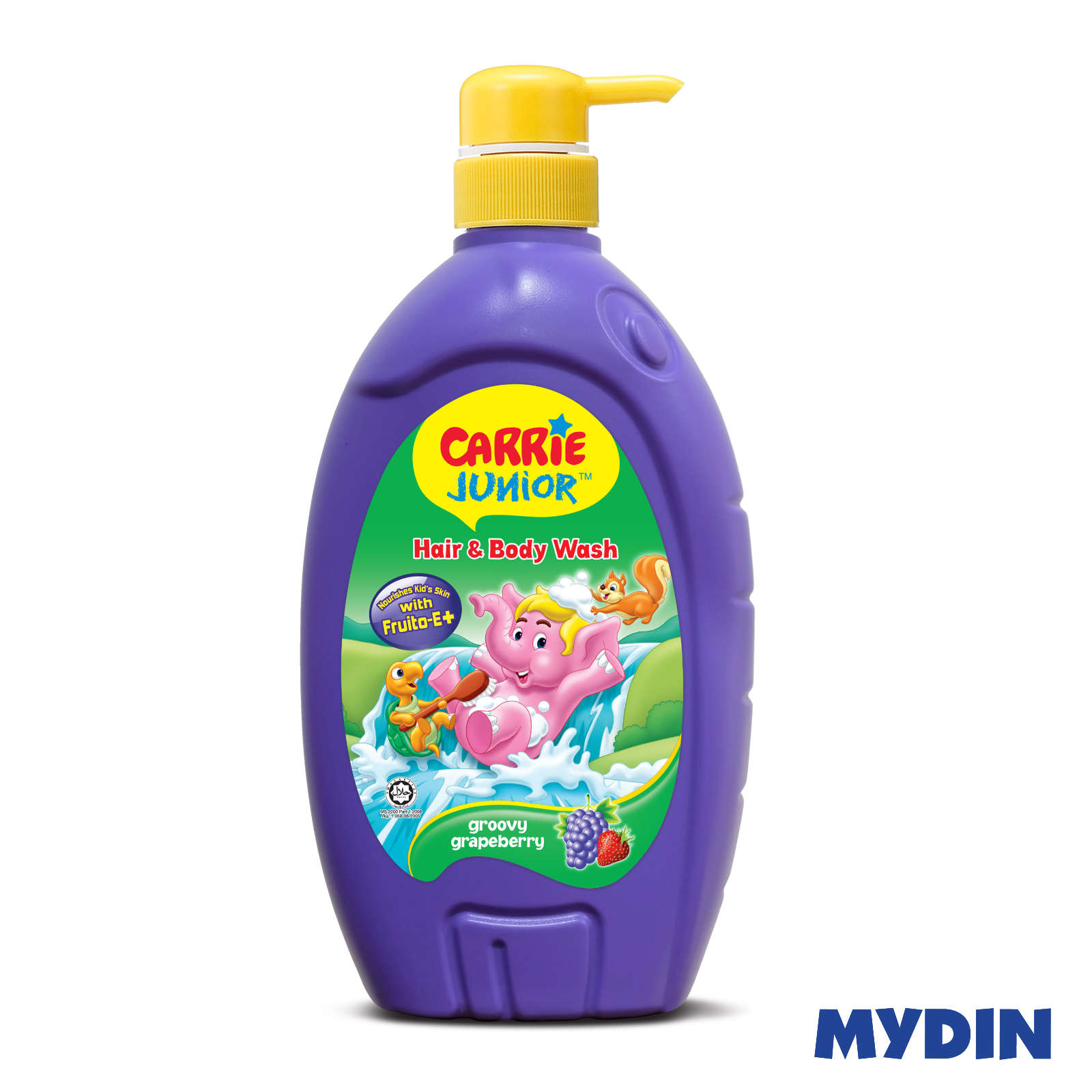 Carrie Junior Baby Hair & Body Wash - Groovy Grapeberry (700ml)