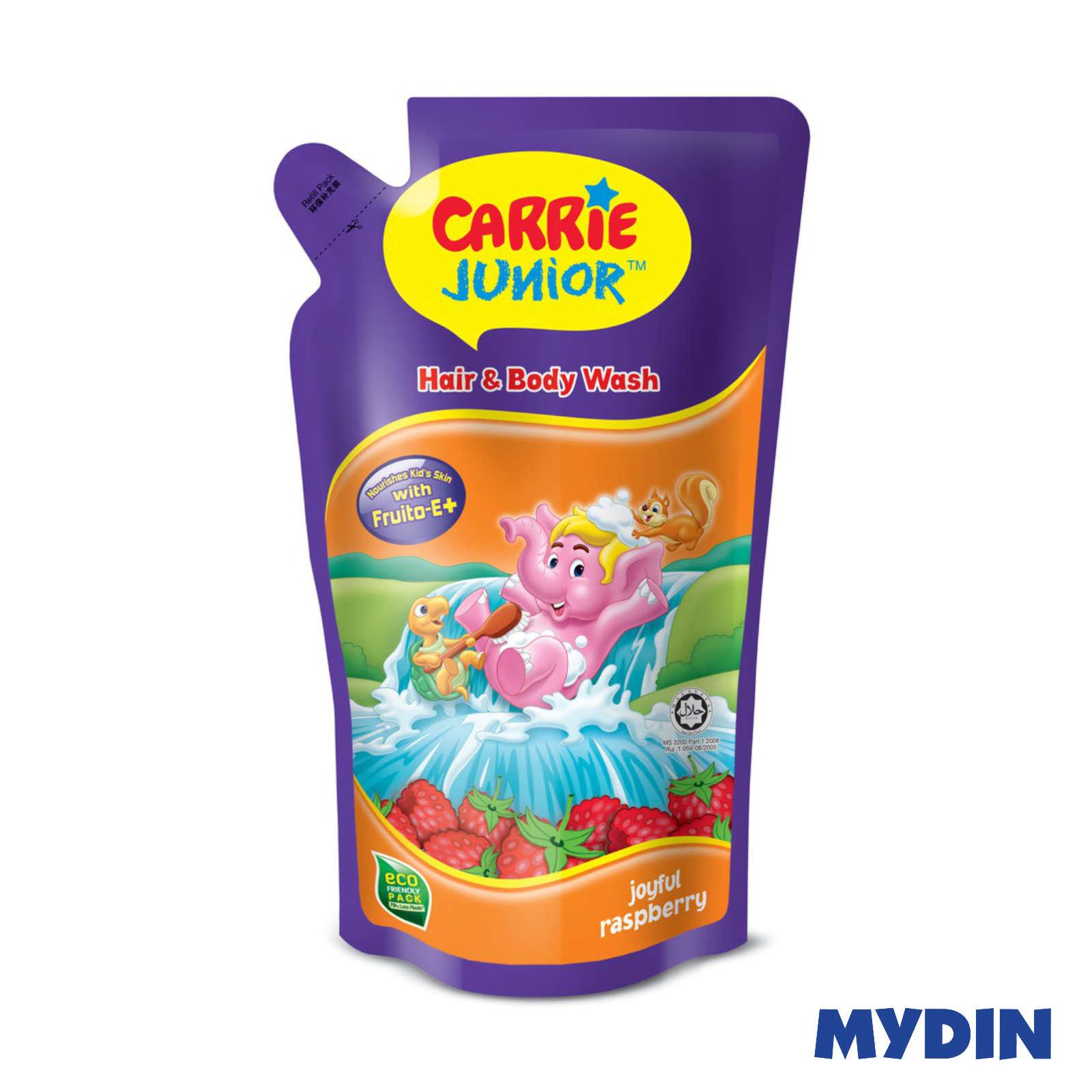 Carrie Junior Hair & Body Wash Raspberry 500g