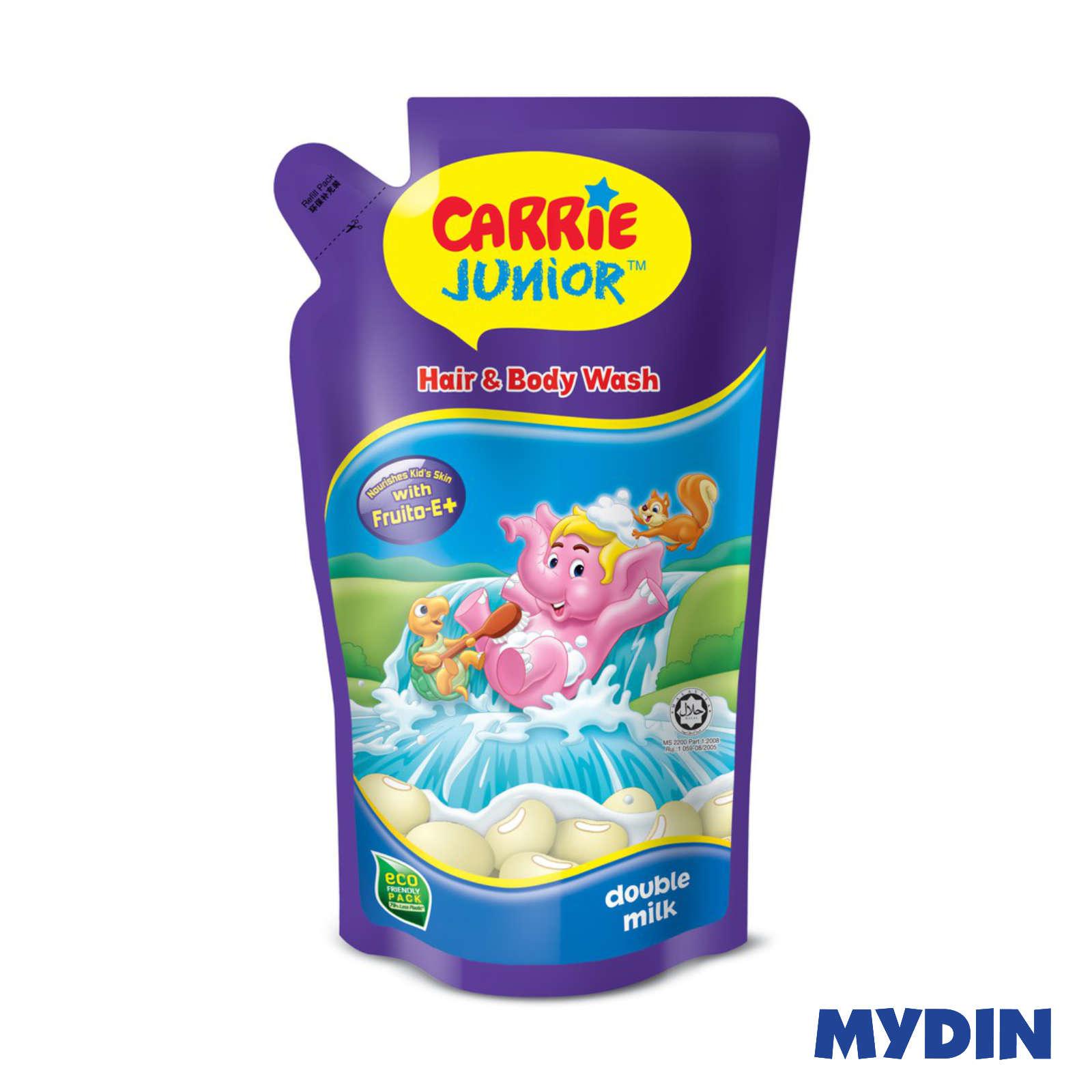 Carrie Junior Hair & Body Wash Double Milk 500g