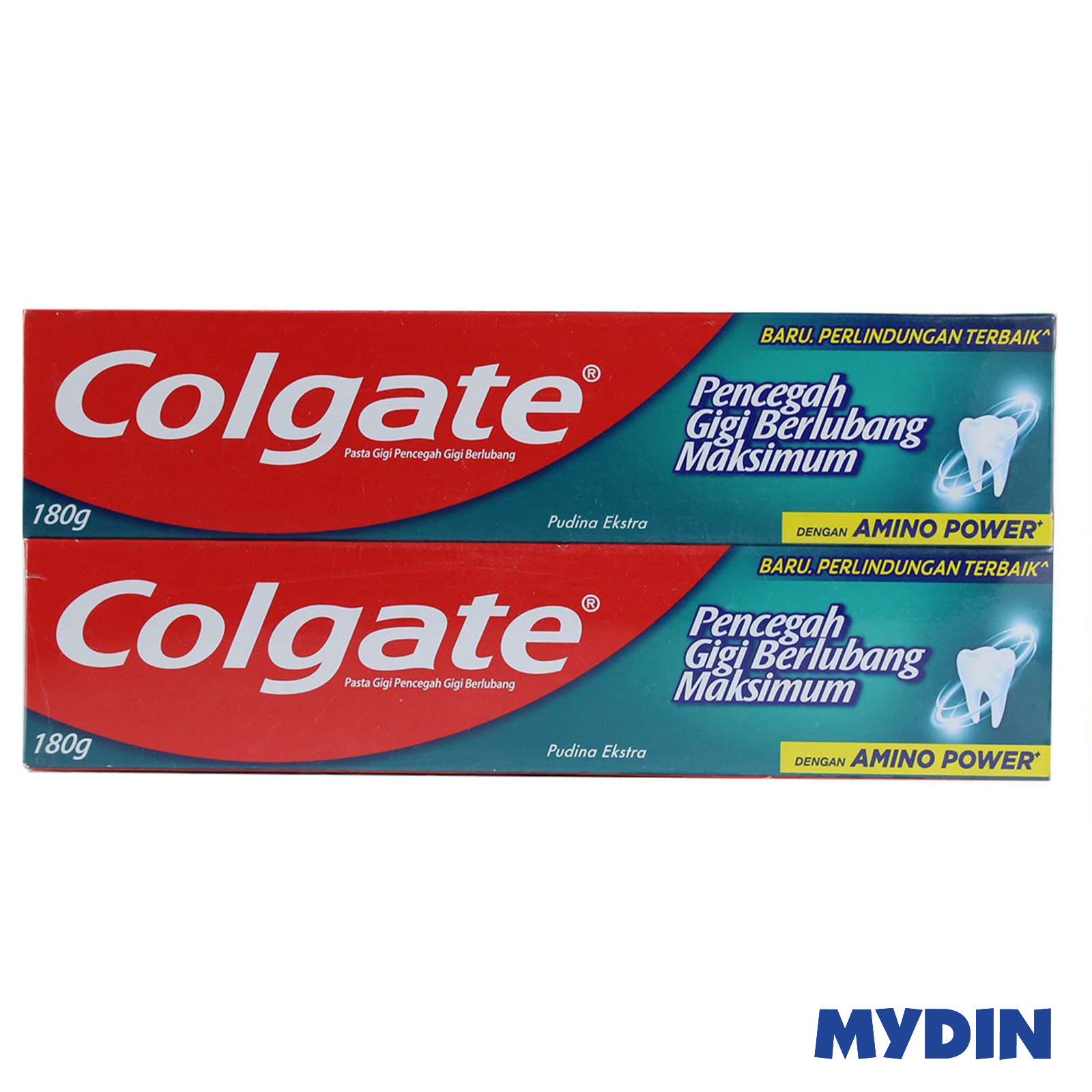 Colgate Maximum Cavity Protection Fresh Cool Mint Toothpaste (2 x 180g)
