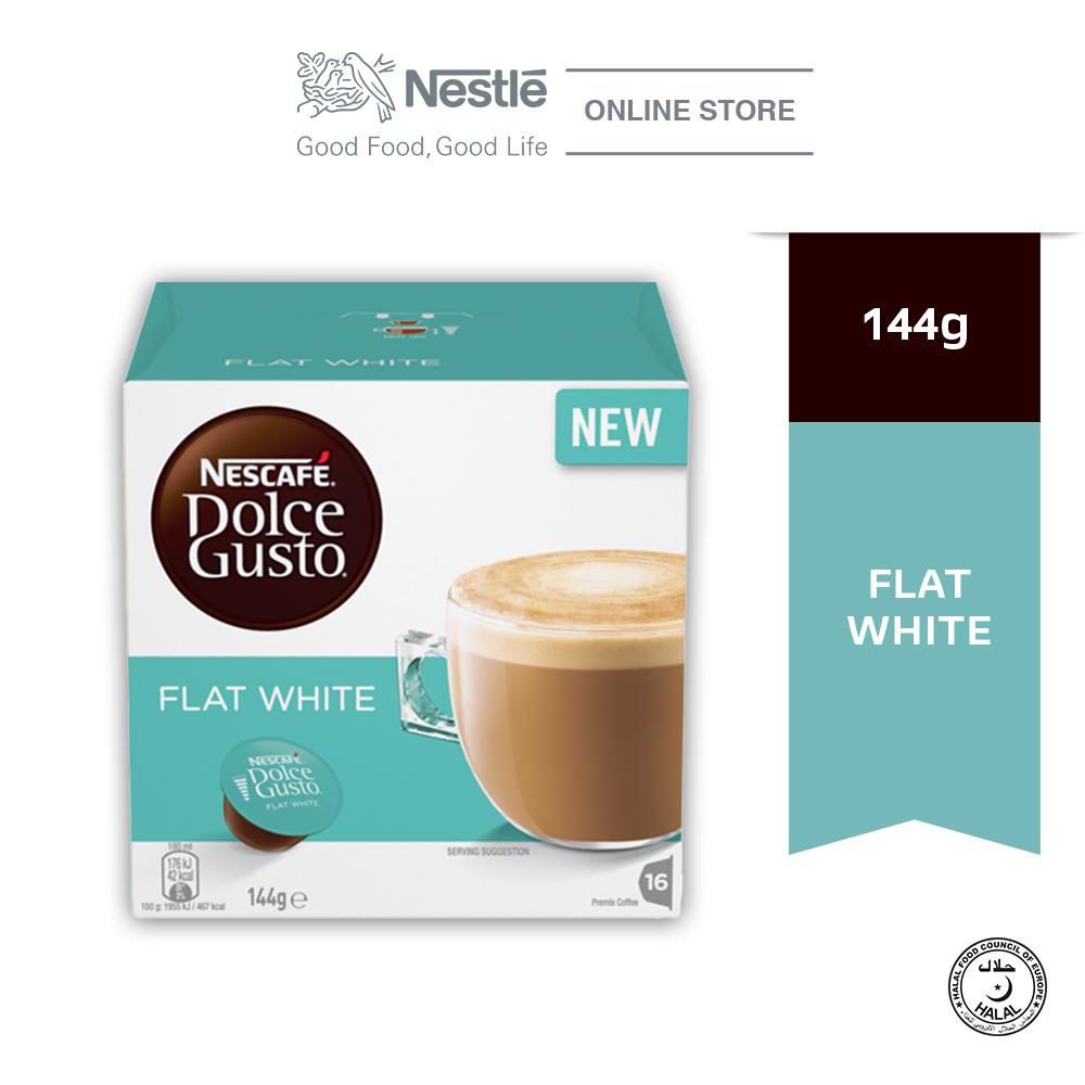 NESCAFE Dolce Gusto Flat White 3x128g