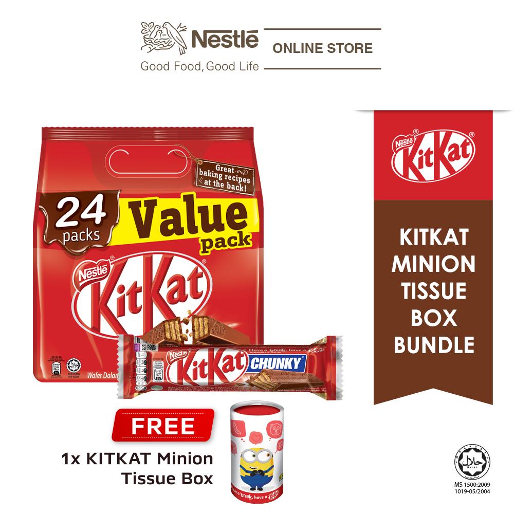 Nestle KITKAT Minion Tissue Box Chocolate Bundle 1